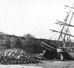 c1910 - Wrecks at Black Rock - Dale